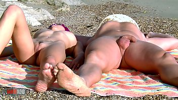 Hot young babe with perfect body fucking with boyfriend at the beach
