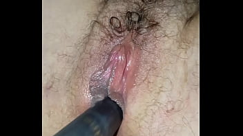 my sexy wife takes a baseball bat and squirt