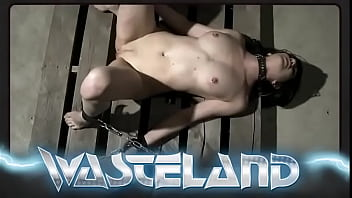 Leather Bondage For Hot Submissive Owned By Master With Whip And Vibrator