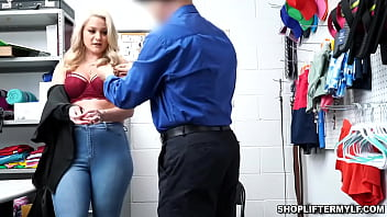 MILF thief Lisey Sweet steals some jewelries