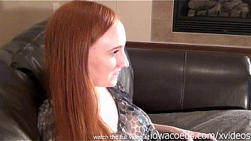 hot redhead playing playstation in the nude video gamer girl