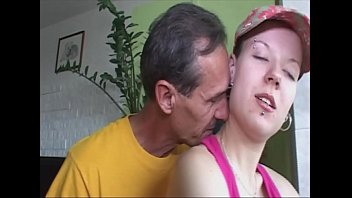 The daughter surprised by the neighbor during the sport, hot fuck