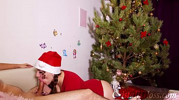 Watch ride big cock and lick pussy milf cristall gloss Online videos • Xmas sex and deepthroat with huge cock preview