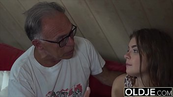 Watch Big boobs young student gets hardcore fucked by grandpa preview