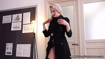 Young Courtesans - She loves dressing up and wearing sexy lingerie to impress her client