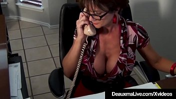 Super Heroin Cougar Deauxma StrapOn Fucks Hot Evil Scientist Dr. Focker who plans to take over the world! Busty Deauxma's super powers are too much for Dr. Focker & they end up in bed instead! Sex Comedy At its Best!