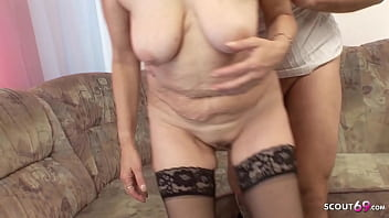 73yr old Grandma touch and Fuck by Young Boy Neigbour