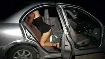 Amateur Fuck In Backseat