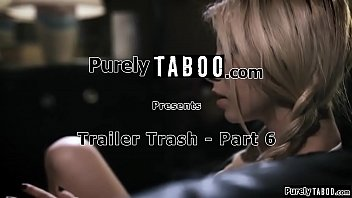 Trailerpark stepsis agrees to go to the clinic under one condition.She wants her tattooed stepbro to fuck her one last time.Seeing no other way out he throatfucks her before fucking her rough in her pussy.Just when he finishes up his gf walks in