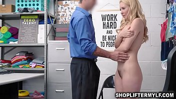 Aaliyah begs and offer officer Rusty her pussy to fuck to spare her from police involvement