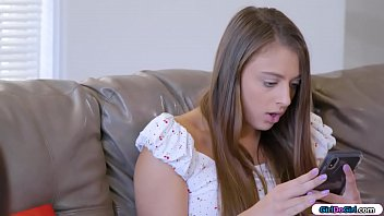Comic geek lesbian bffs find their former bully on a dating app.They invite her over for a payback and get out their strapons.The former bully has her big tits sucked before shes dped by them.She then licks one while the other asslick her friend