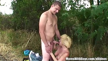 Old Snatch With Two Boys Outdoor Hardcore Fuck Thumbnail
