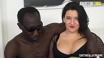 AMATEUR EURO - Busty Romanian MILF Paola Diamante Gets Banged On Cam By BBC
