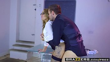 Brazzers - Big Tits at Work - Stacey Saran and Ryan Ryder - The Firm and the Fanny Thumbnail