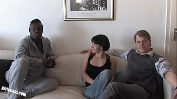 Watch Pia made her Boyfriend to a cuckold! he must watch her first BBC fuck preview