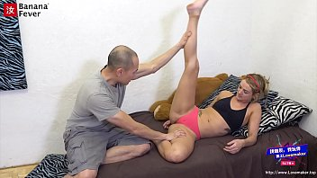 Asian Yoga Instructor Seduce Breed Fuck Blonde Yoga Student - BananaFever