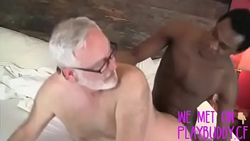 Black Thug Lays Young Pipe on Old Horny Grandpa