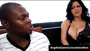 Curvy Cuban BBW, Angelina Castro, spreads her big ass cheeks wide & takes a thick ebony dick into her spicy snatch until she takes his load! Full Video & Angelina Live @ AngelinaCastroLive.com! Thumbnail