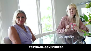 Mature Cougars In Threesome