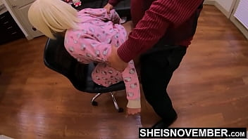 HD Msnovember Huge Black Boobs Bouncing While Smashed Doggystyle In Chair From BBC Daddy POV, Thick Pretty Booty Pounded Roughly Screaming In Pain on Sheisnovember by JDG Pornart
