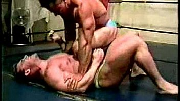 Steve Sterling wrestles Myles West