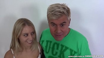 Like Seeing a Pretty Babe Squirt Milk from Her Tits? Watch this Hairy Pussy Hottie Lactate All Over Porno Dan and Chad Rockwell!