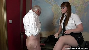 Curious Slave - Cruel and Merciless Cock Spanking