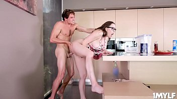 Stepmom Chanel Preston fucks her stepson until he is ready to deliver a serving of his special cream