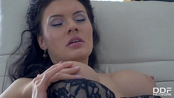 Horny Russian glamour vixen Kitana Lure rides dude's veiny cock with her butthole