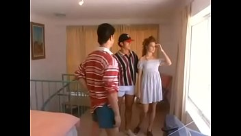 Nice hungarian babe fucked in threesome