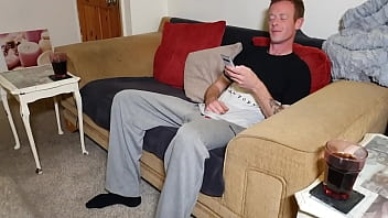 riding his dick on the sofa