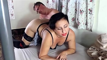 Homeowner fucks the maid, cums on her ass. Submit to fuck housewife Domination