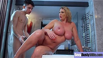 (Leigh Darby) Sexy Busty Hot Wife Love Hard Style Bang movie-29