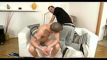 Homo man gives lusty anal lickings