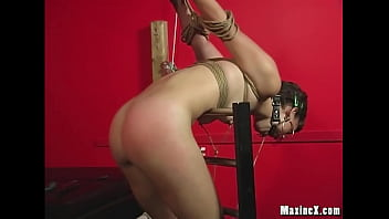 Cute BDSM Amateur Kaera Cruz squirts after she gets tied up by Cambodian Cougar Maxine X, using her Hitachi and many other toys in this kinky first time! Full Video & MaxineX Live @ MaxineX.com!