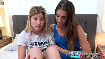 Threesome With Wife and Step-Daughter Ends In Deep Creampie!