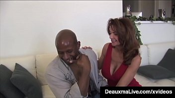Watch Sexy Cougars Deauxma & Curvy Colombian_Ariella Ferrera both share a chocolate cock in this_pussy pounding interracial jizz swapping 3Some! Full Video & Deauxma Live @ DeauxmaLive.com! preview