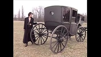 Hot and sexy brunette wants sex in a buggy!