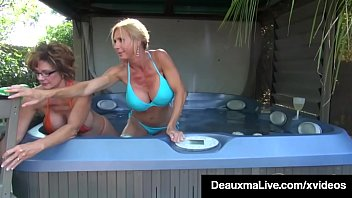 Big boobed cougar deauxma gets her mature mommy muff licked & suckled by hot milf brooke tyler as these sexy older women get some pussy love on cam full video & deauxma live