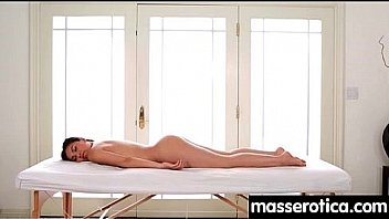 Massage therapist giving her patient some unknowing love 21