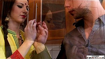 Mature indian lady fucking in kitchen Thumbnail