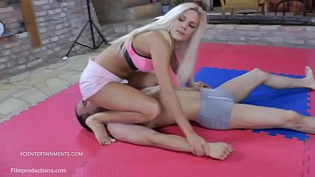Cute Blonde Candee Licious is...