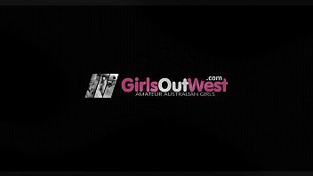 Girls Out West - Naughty girlfriends with hairy cunts enjoy lesbian fuck