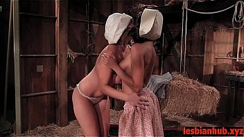 Teen amish lesbians discover fucking HD
