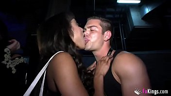English girls gone wild in a Sex Expo with two Spanish Studs