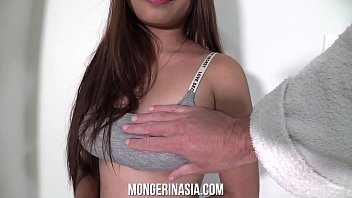Big Titted Asian House Cleaner Gets Creampied to Land the Job