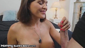 Surprise Birthday Blowjob From My Stepmother