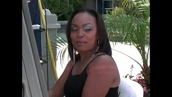 Slutty black milf  gets rammed in her ass with a hot black cock