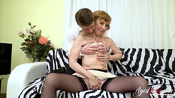 Hardcore grandma fuck with handy horny youngster