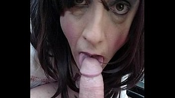 Sissy sucking cock